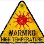 Warning High Temperatures