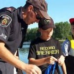 Kids, Cops & Canadian Tire Fishing Day